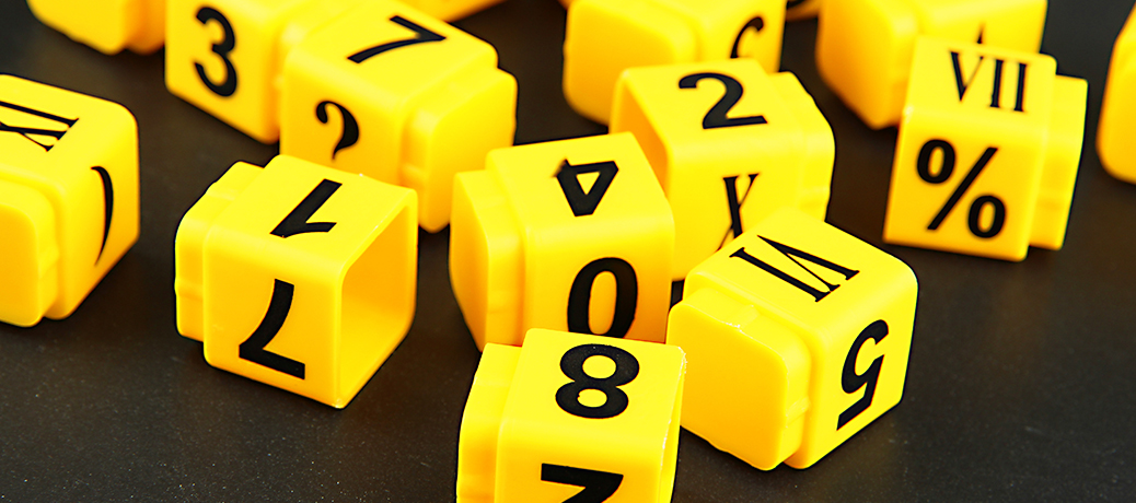 number-cubes